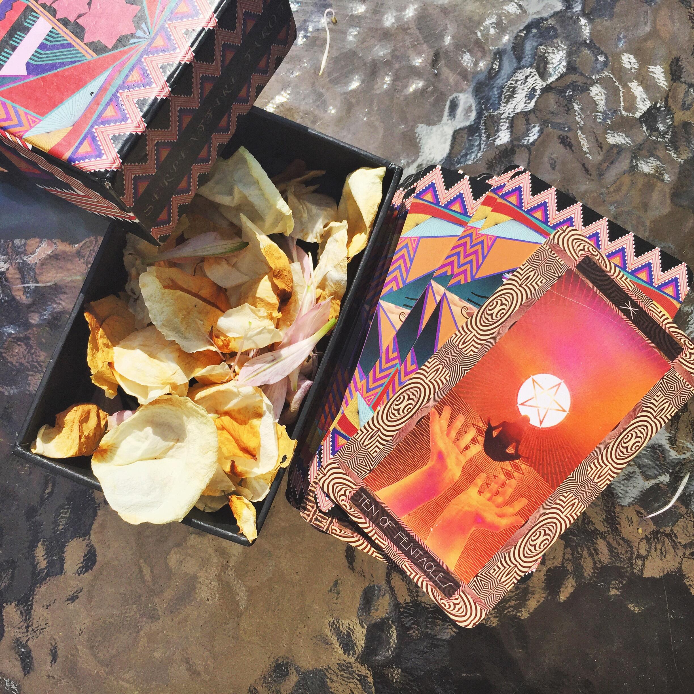 Serpentfire Tarot Deck. Photo by Cèlia Domínguez