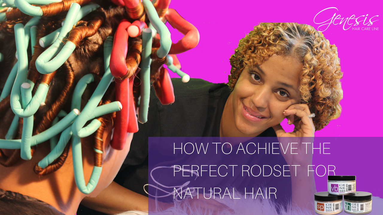 How To Acheive The Perfect Flexi Rod For Natural Hair