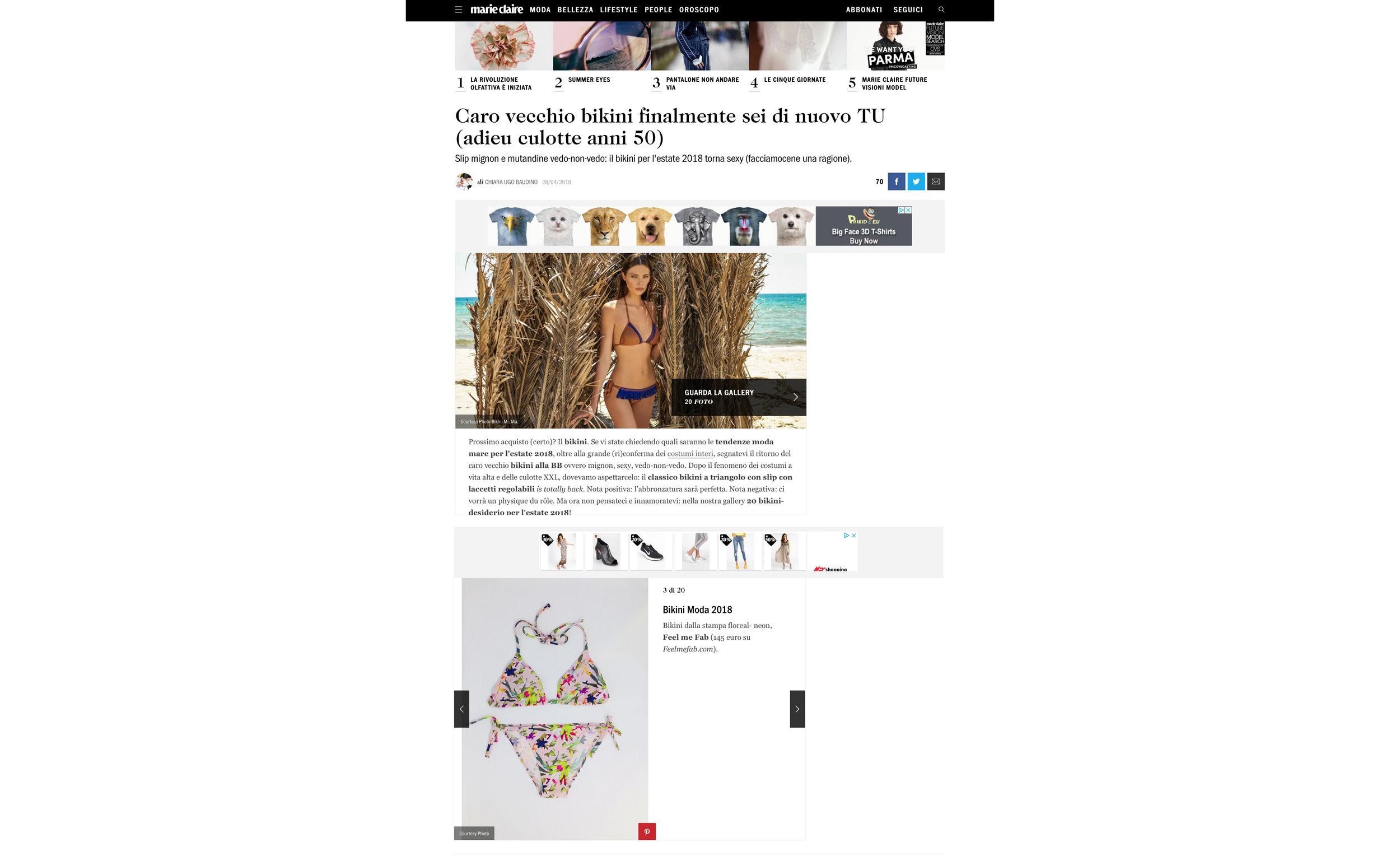 FEEL ME fab - Marieclaire maggio 2018 - bikini.jpg