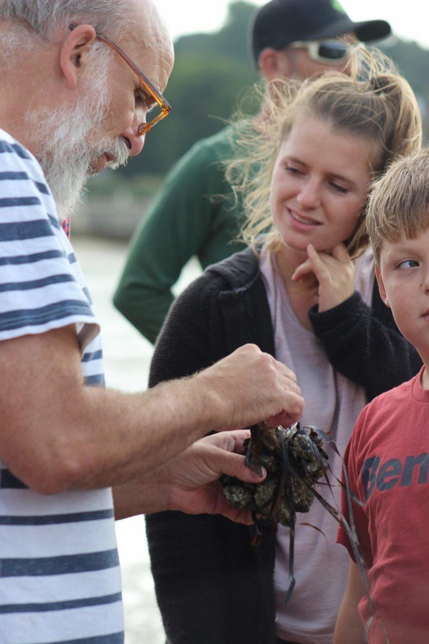 Naturalist Ian Boyd helps us identify species