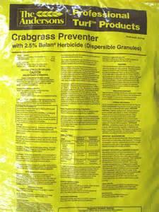 Balan 2.5 on DG PRO™ Crabgrass Preventer
