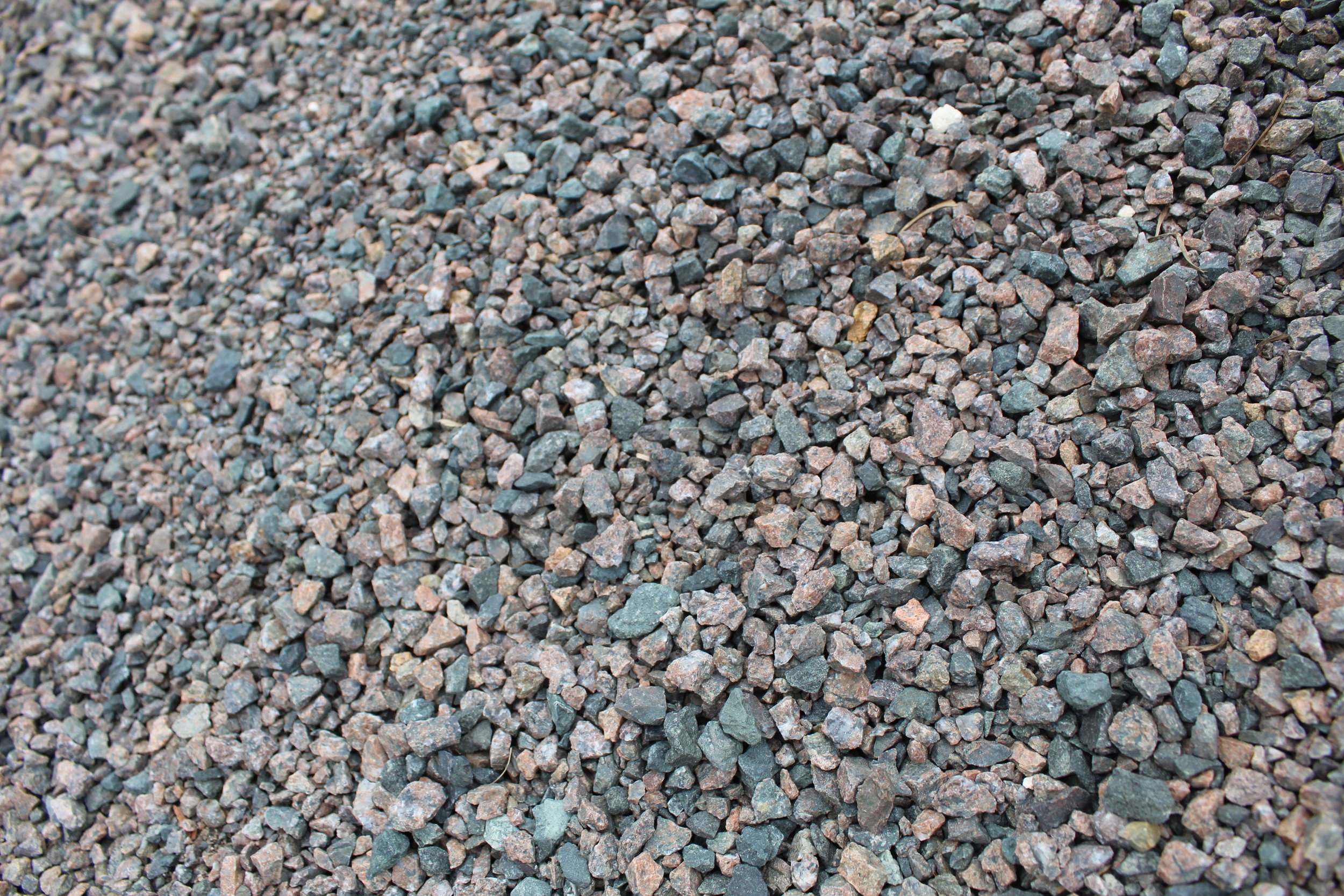 - Crushed Granite