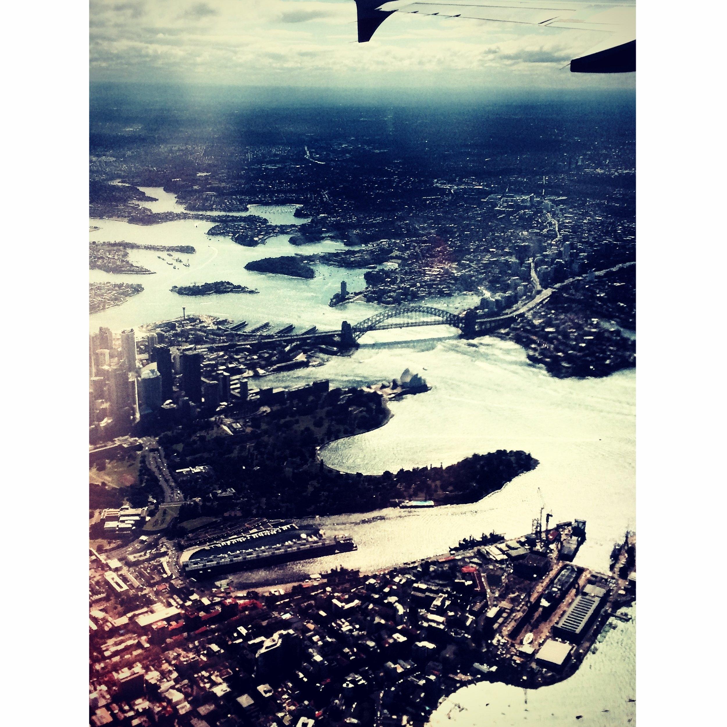 """""""Träumen ist wie fliegen"""".              Sydney 2015"""