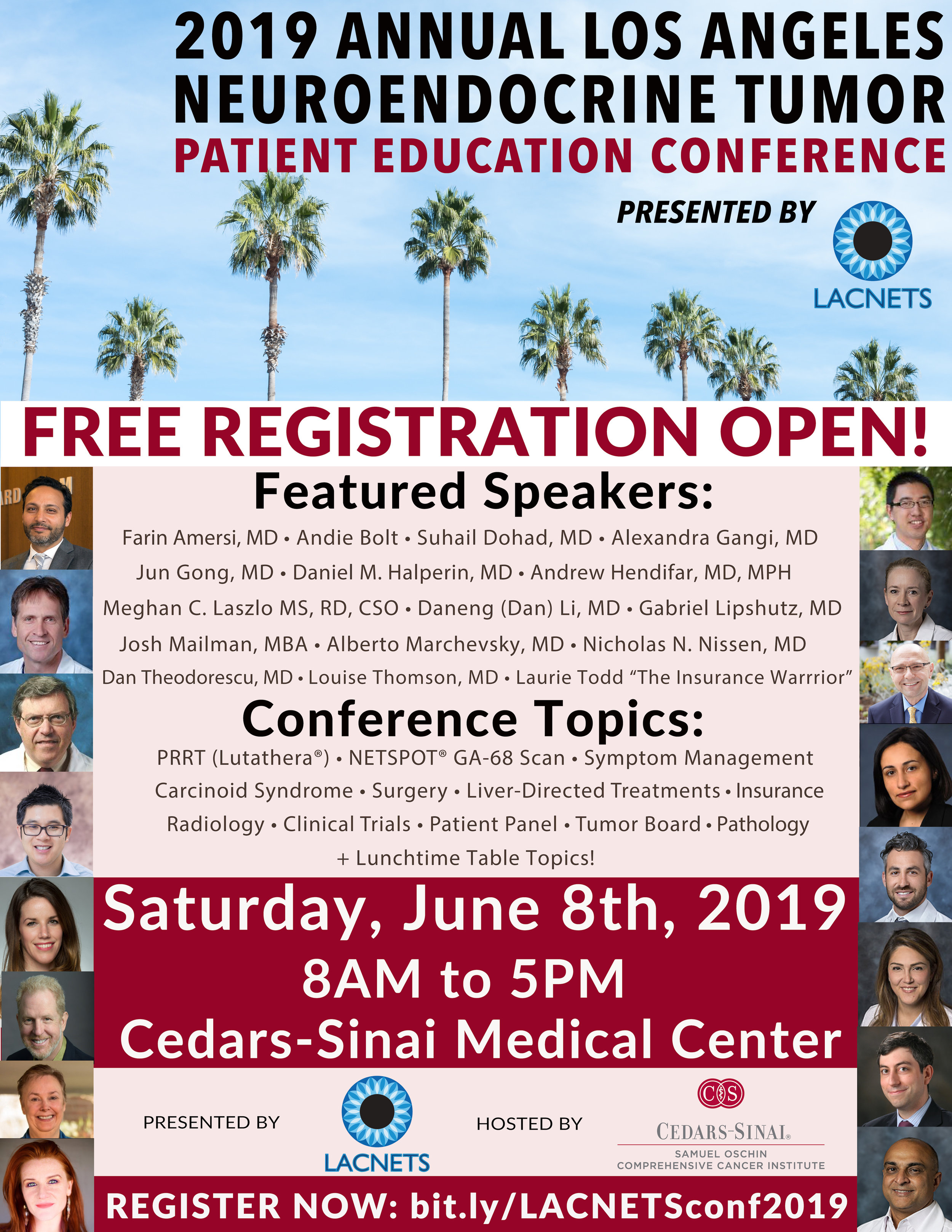 2019 Annual Los Angeles NET Patient Education Conference — LACNETS