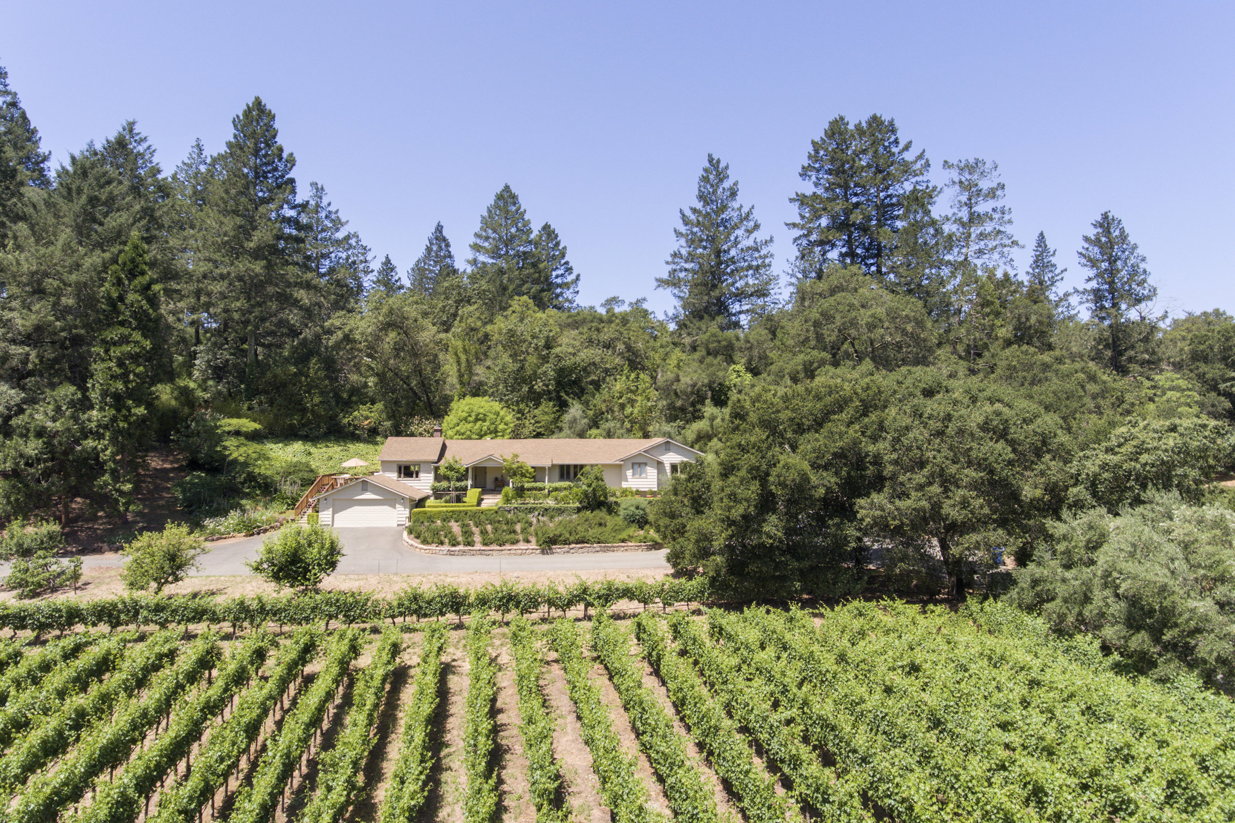 VINEYARD | PRIVACY | OUTDOOR LIVING    107 Lilac Lane, St. Helena  $1,795,000    VIEW DETAILS