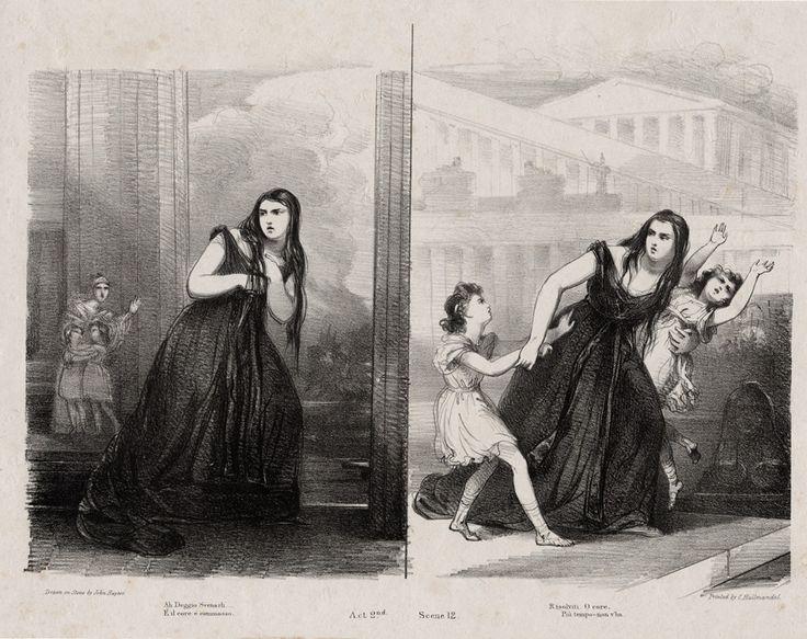 Giuditta Pasta as Medea