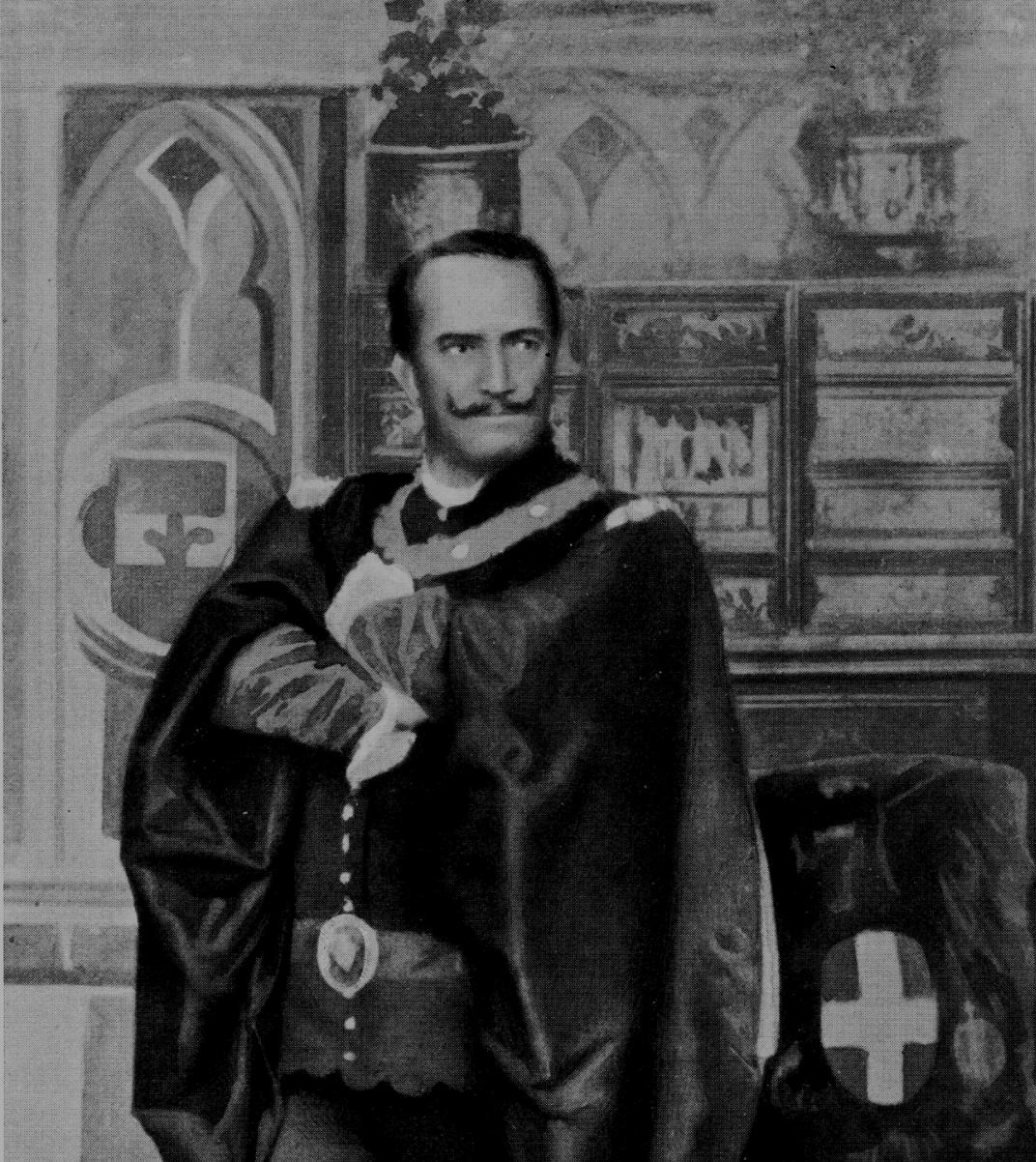 Andrea Maggi in Il conte rosso by Giuseppe Giacosa