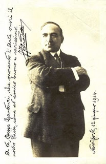 Ferruccio Corradetti - Signed publicity photo