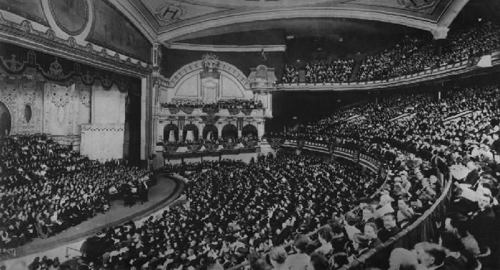 John McCormack in recital at the Hippodrome