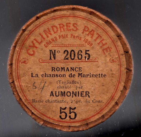 Paul Aumonier cylinder label
