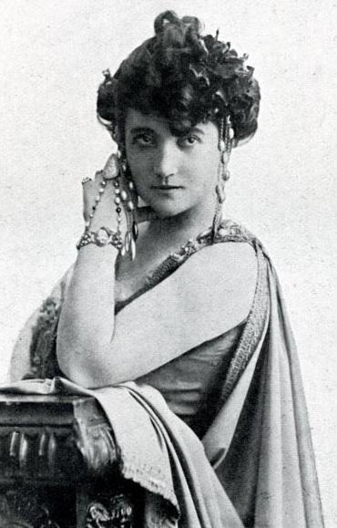 Calvé in the 1880s