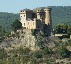 Calvé's castle today