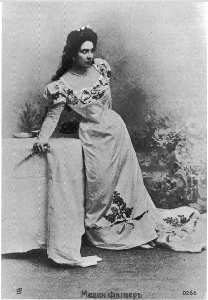 Medea Mei-Figner as Tosca