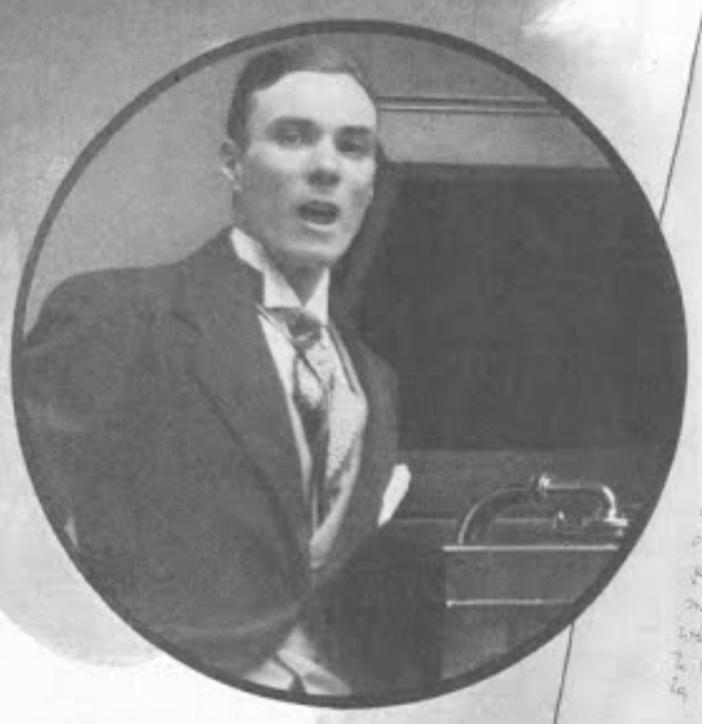 Mario Laurenti on an Edison tour