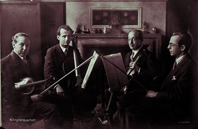 Klingler Quartet around 1930