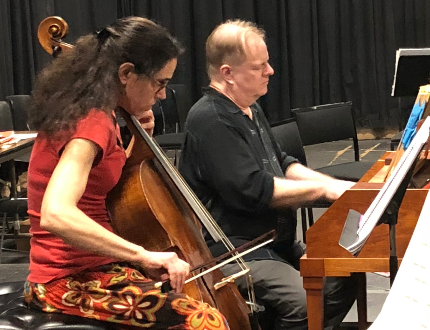 Touches of Sweet Harmony: - Principal Cello Hilary Metzger on Italian performance practice