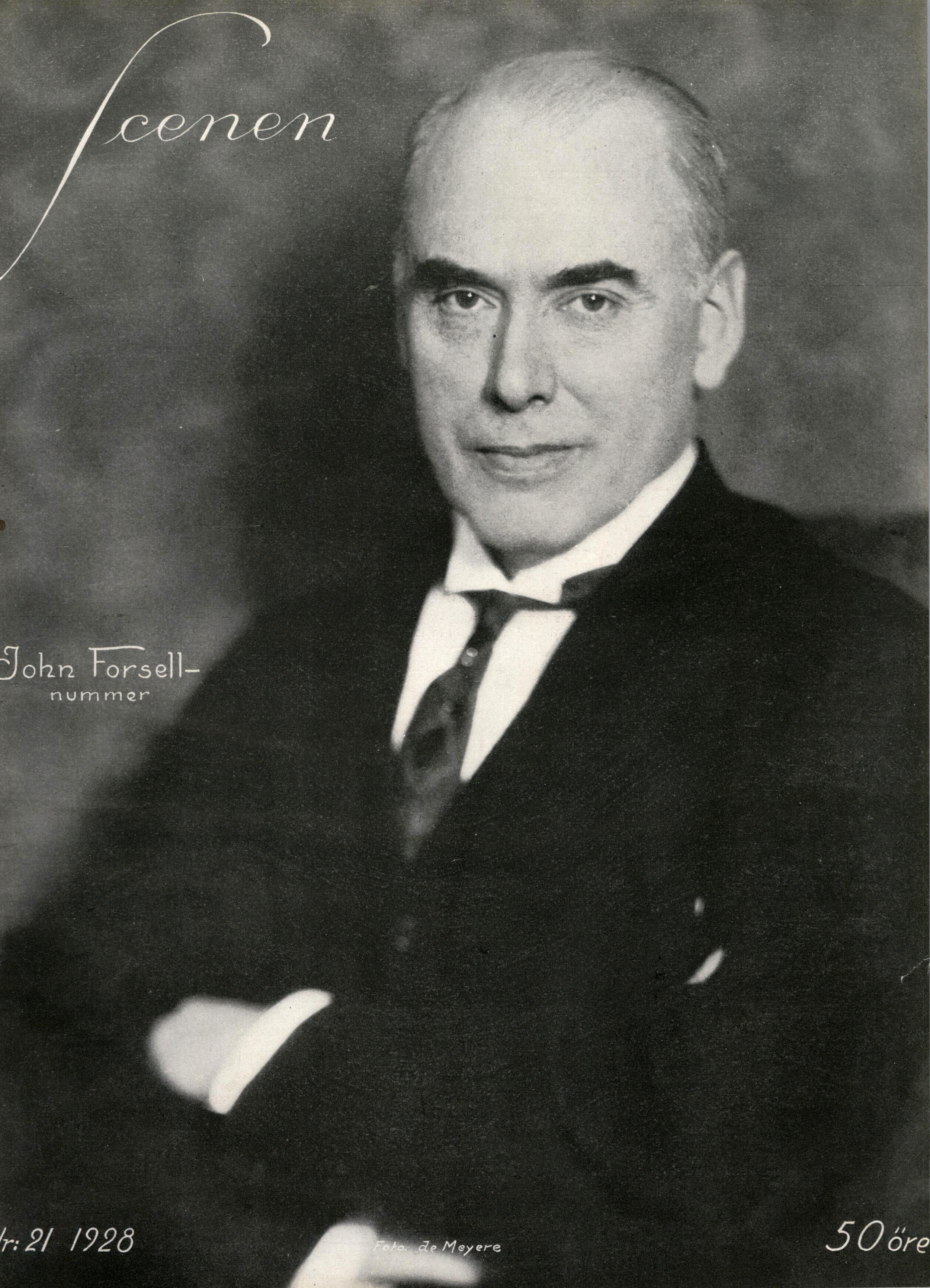 Forsell in 1928