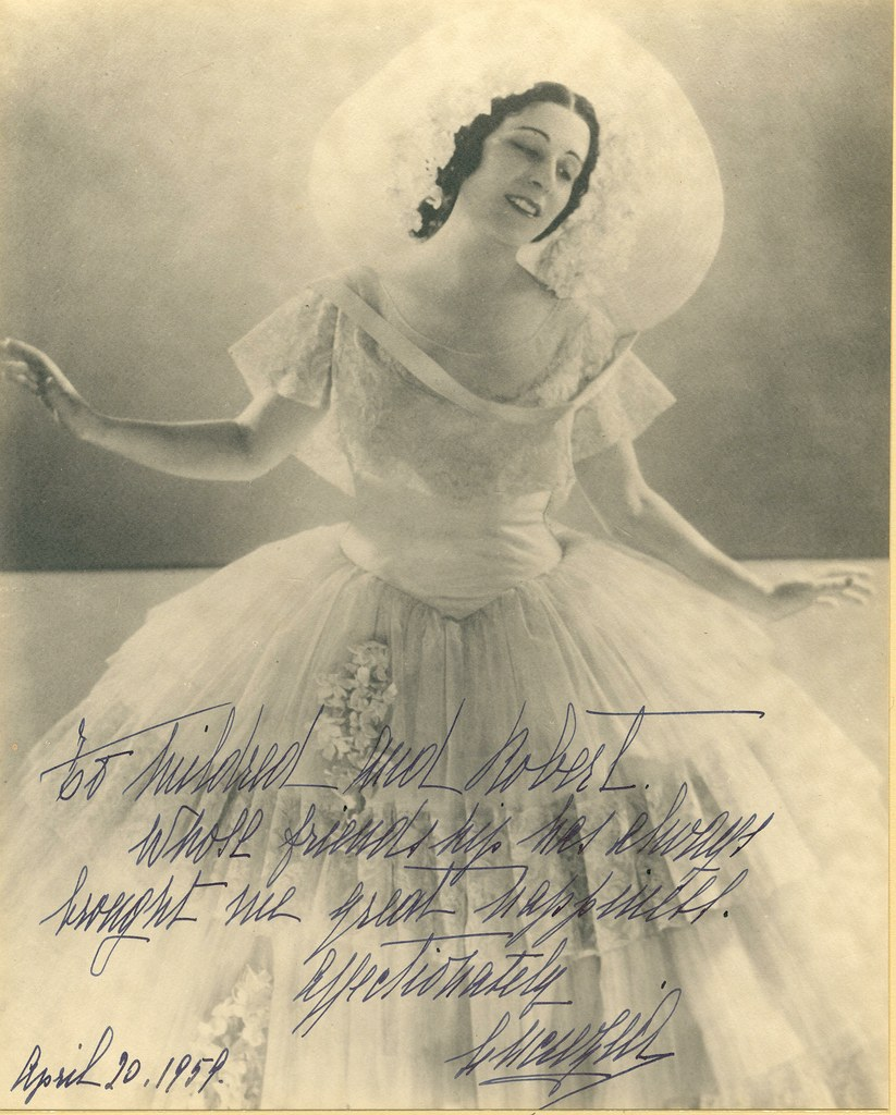Bori, probably as Magda in La Rondine