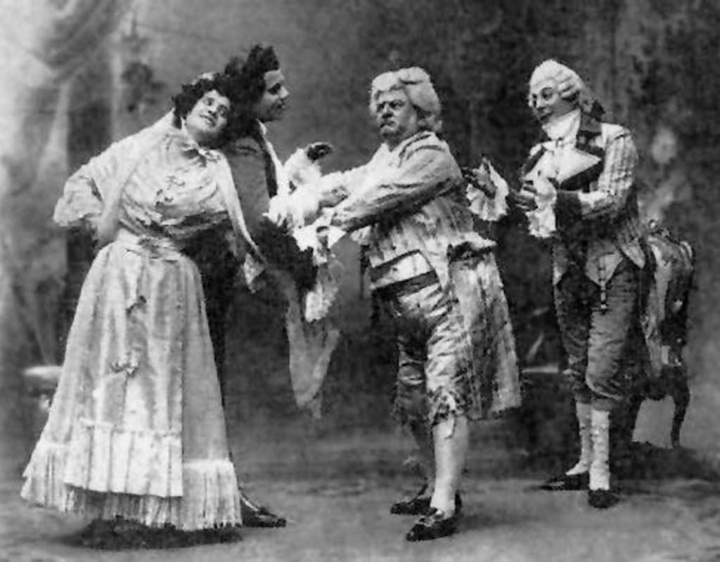 Pini-Corsi as Don Pasquale, La Scala 1902