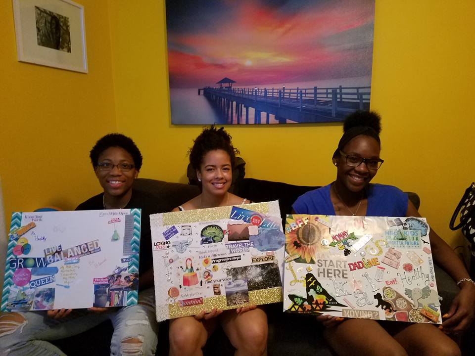 Visualize personal goals with vision boards -