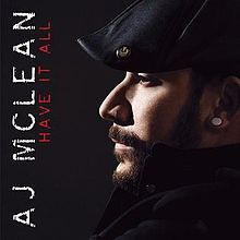 AJ McLean's First Solo Album released only in Japan.