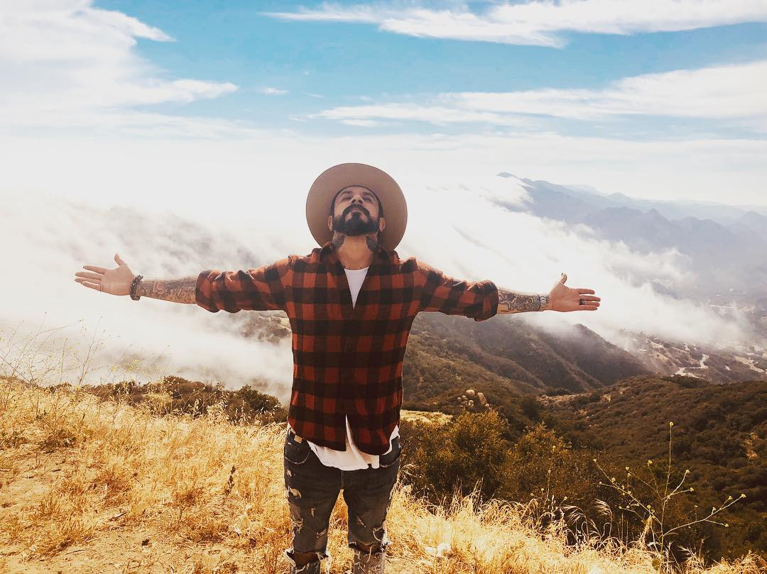 AJ McLean promotional photo for upcoming untitled Country Album.  Photo credit:  AJ Mclean Instagram.