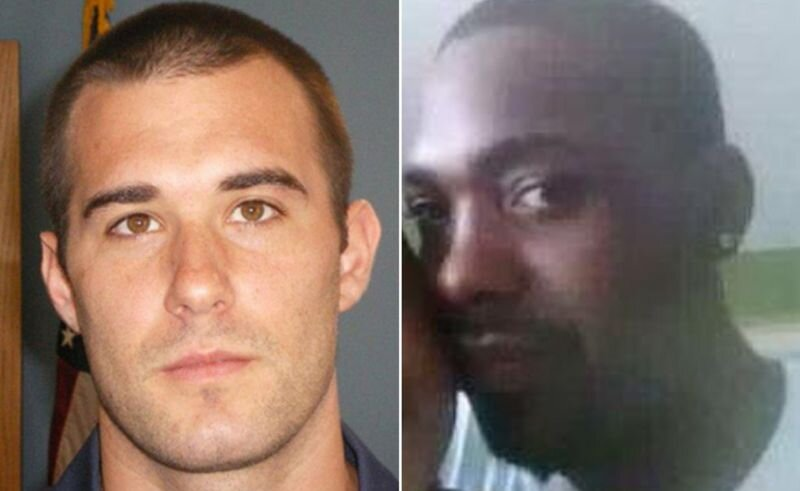 Officer Zechariah Presley, left, was charged in the death of black motorist Tony Green (r.). (Georgia Bureau of Investigation / Family Handout)