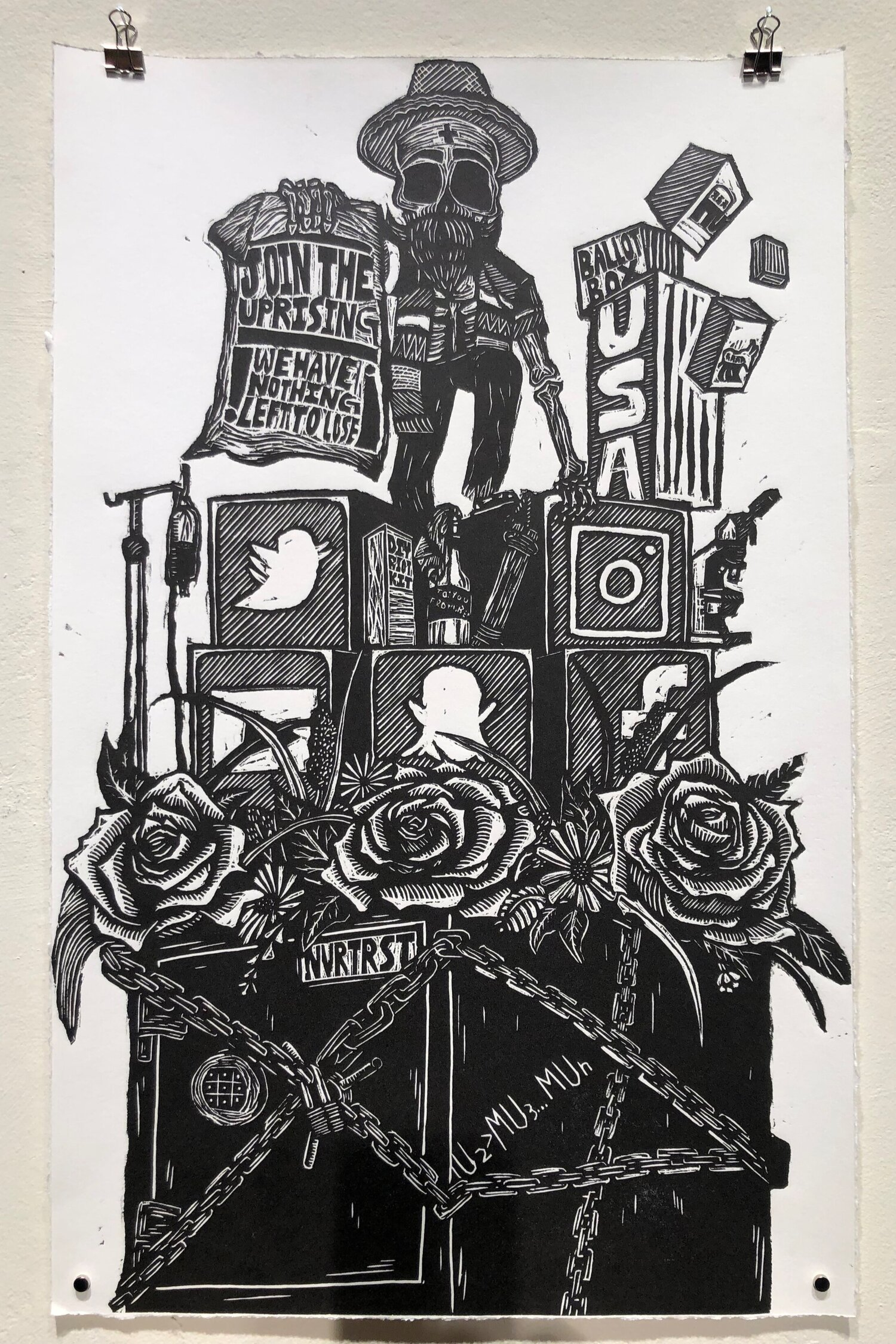 Byproducts - 17x26Printmaking/Woodcuts2019