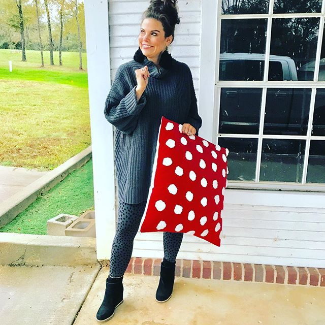 Target has now got their Christmas out!!! And I have linked my favorite pillows. This chunky sweater and animal spotted leggings are so comfy. These boots are my new most comfortable shoes I own. Shop this look on LIKEtoKNOW.it http://liketk.it/2y9Q8 #liketkit @liketoknow.it #over40styleblogger #microinfluencers #holidaydecor #christmaspillows #targetfinds #over50styleblogger #fashionover30 #southernstyle#newblogger #falloutfits #comfyshoes