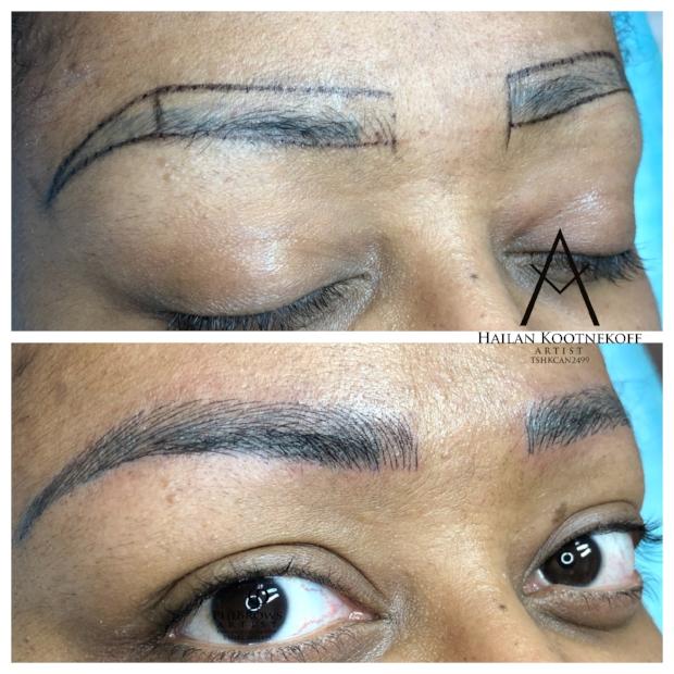 eyebrows Calgary
