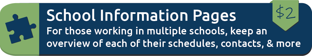 School Information Pages