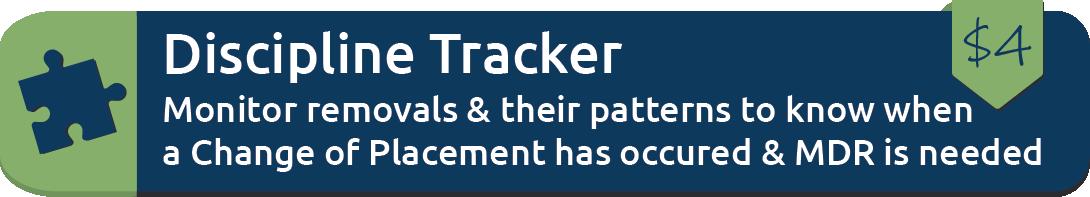 Discipline Tracker.
