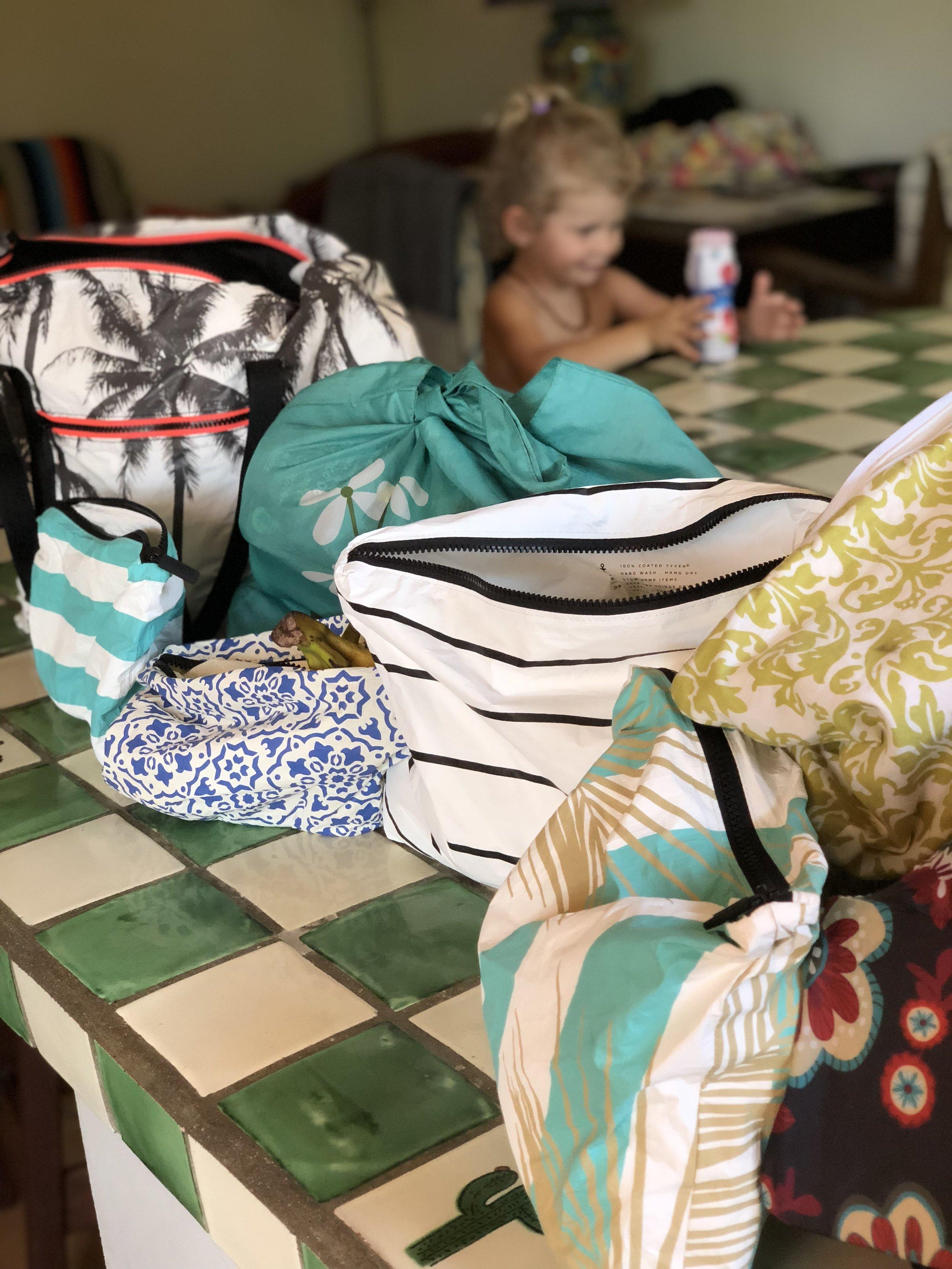 AlohaCollection reusable bags