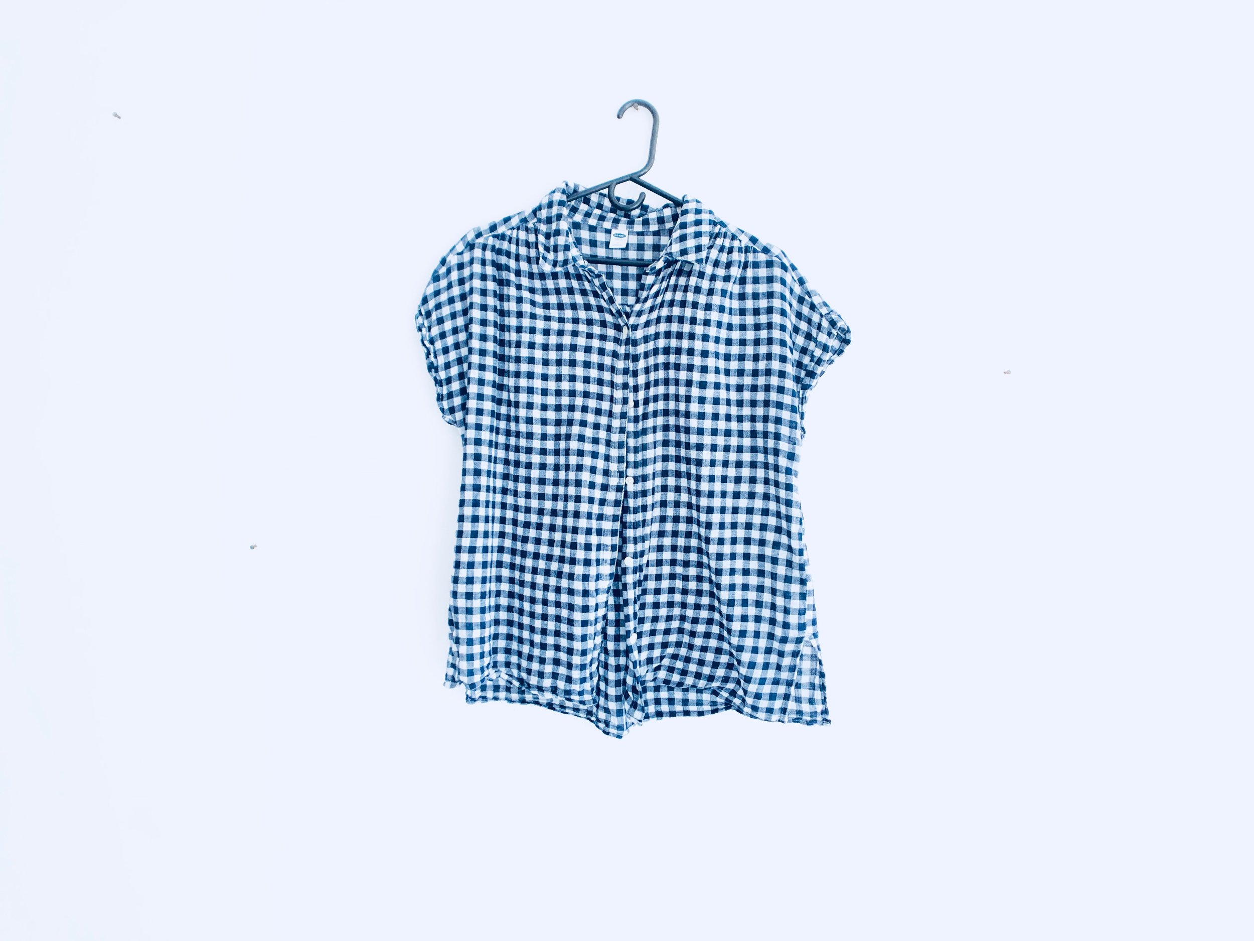 Old Navy Button up Checkered Shirt