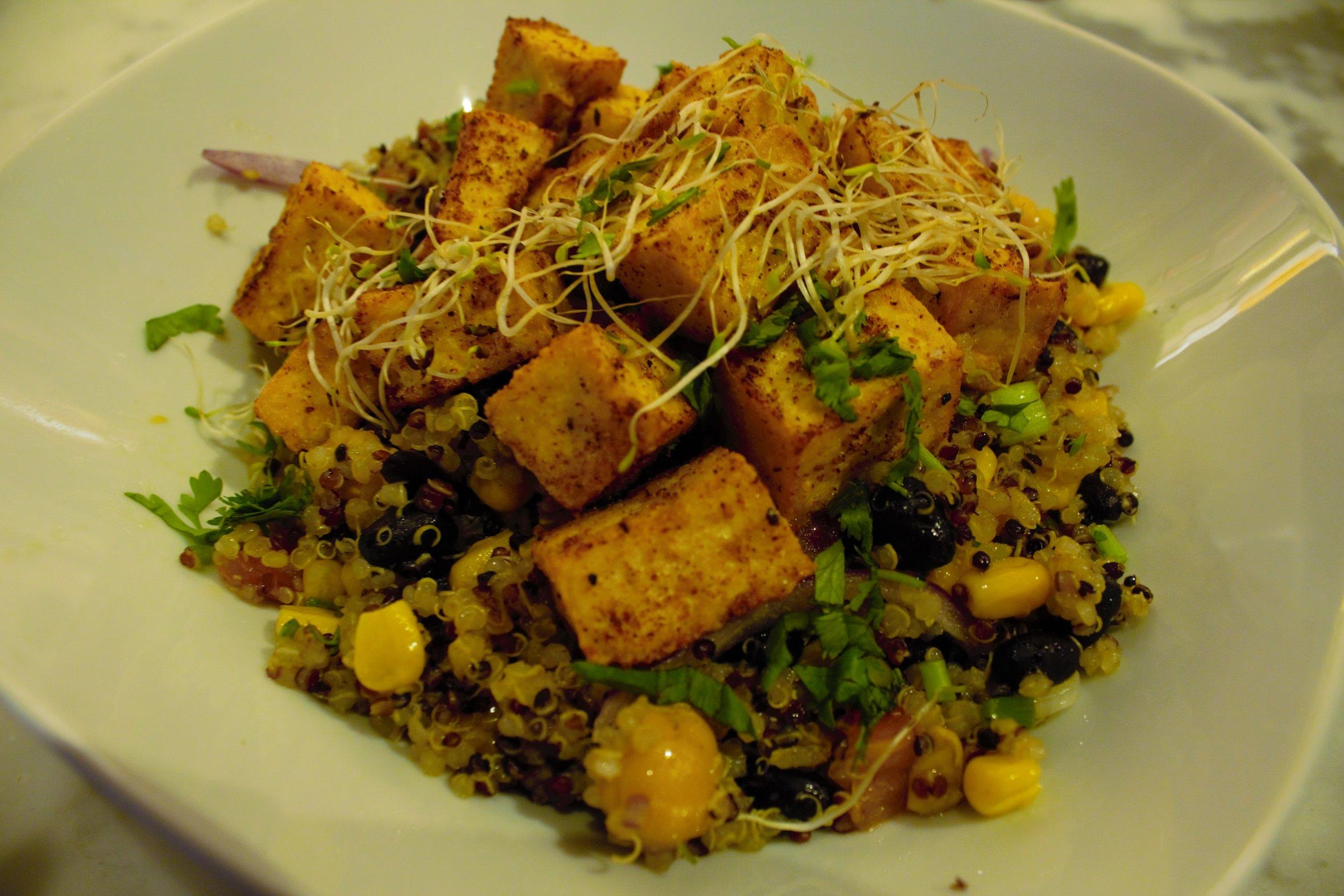 Tofu Quinoa Bowl