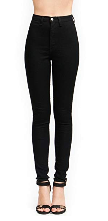 Amazon Vibrant-High Waisted Skinny Jeans