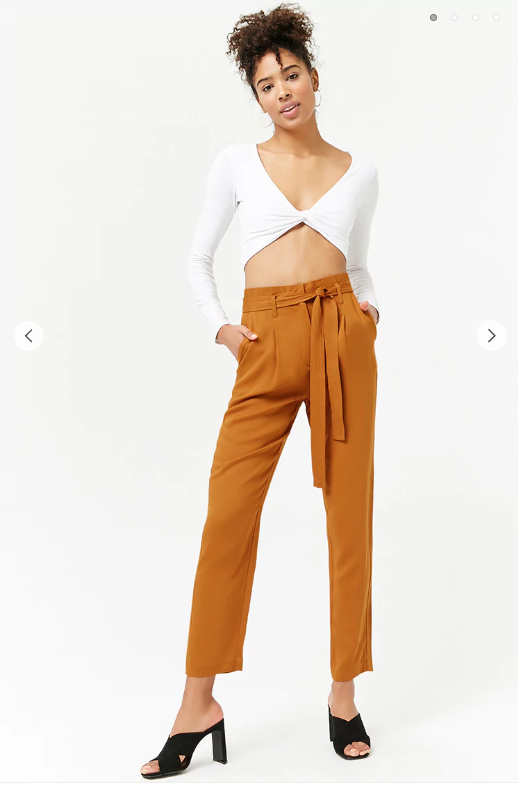 Forever21- High Waisted Paperbag Pants