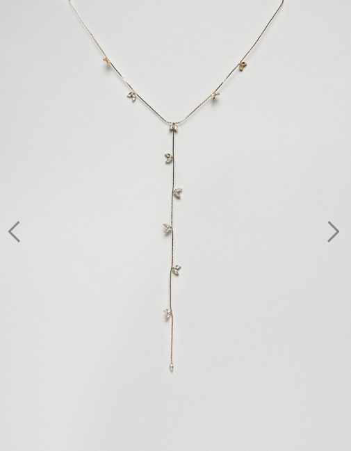 Asos Liars & Lovers- Gem Detail Necklace