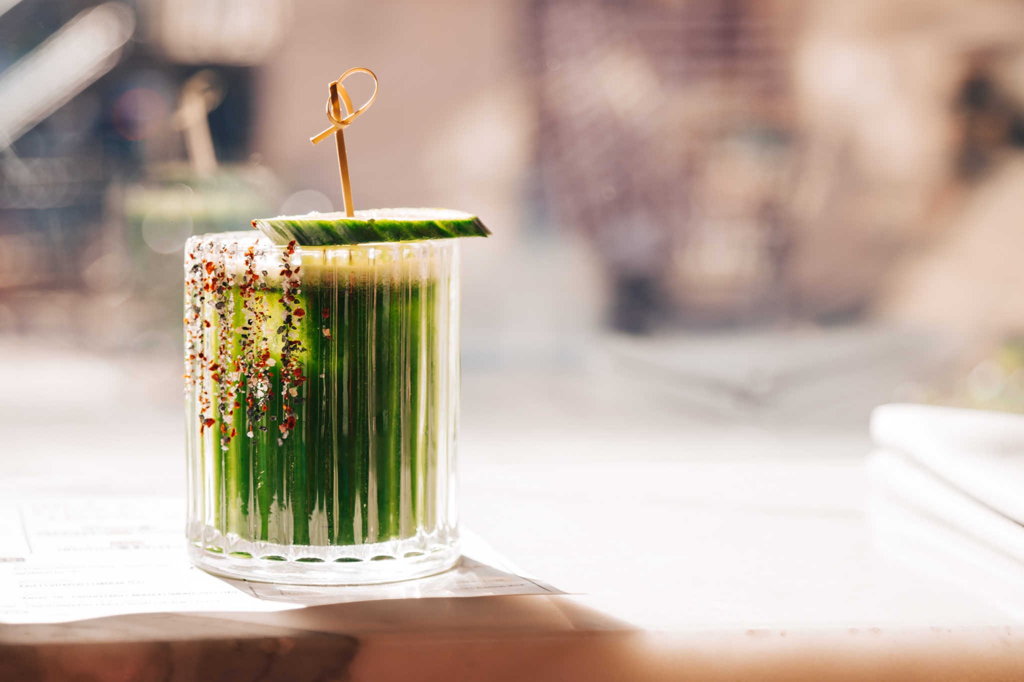 Too Good For You - Tequila/ Agave/ Kale/ Lime/ Cucumber