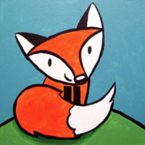 Little Fox 12 x 12