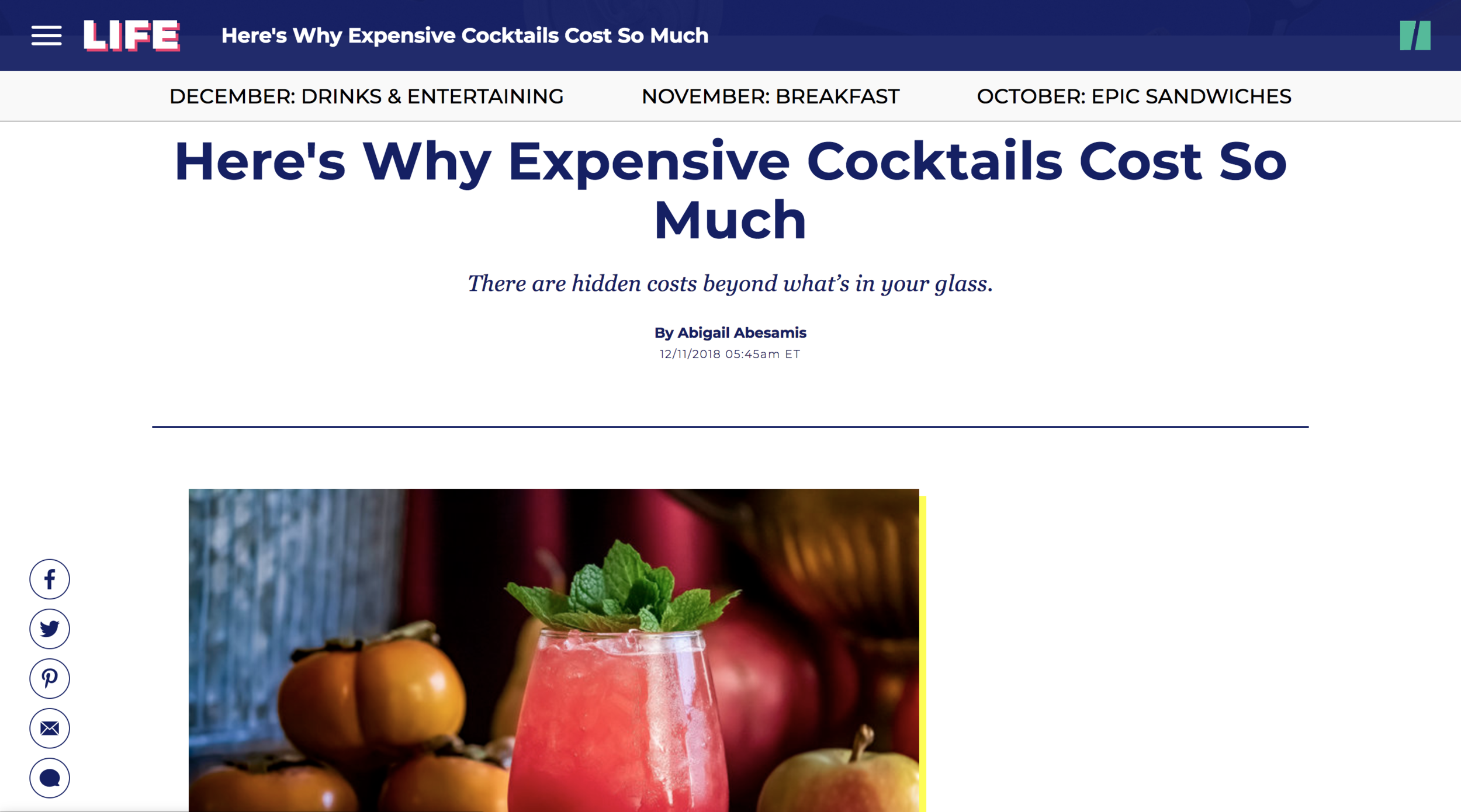 HuffPost Cocktails Screenshot.png