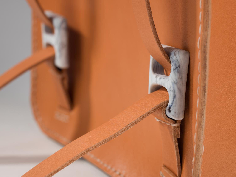 Custom resin buckle