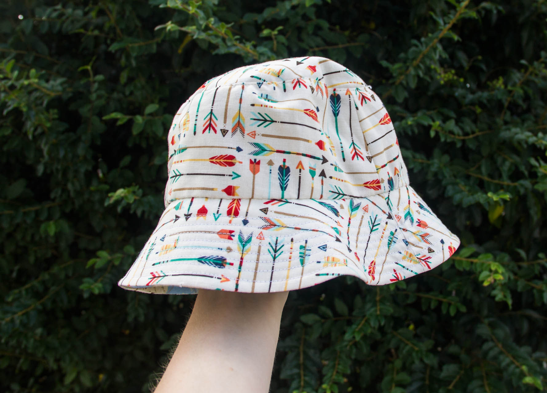 reversible baby bucket hat