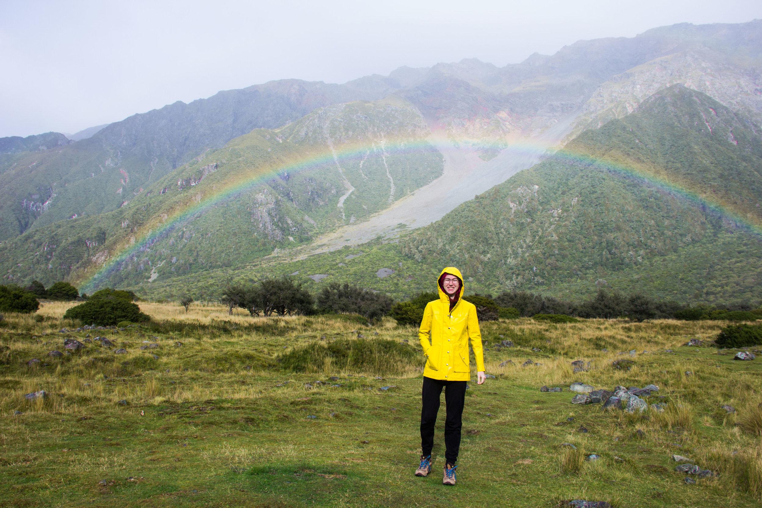 mt cook rainbow kelly anorak