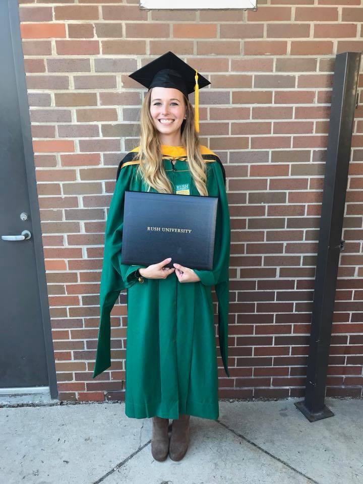 lillian klebenow rush graduation