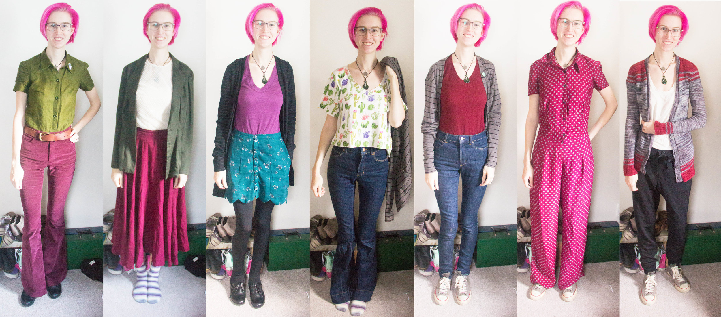 (Week two was my best-looking week, I think. So you get to see it first!)