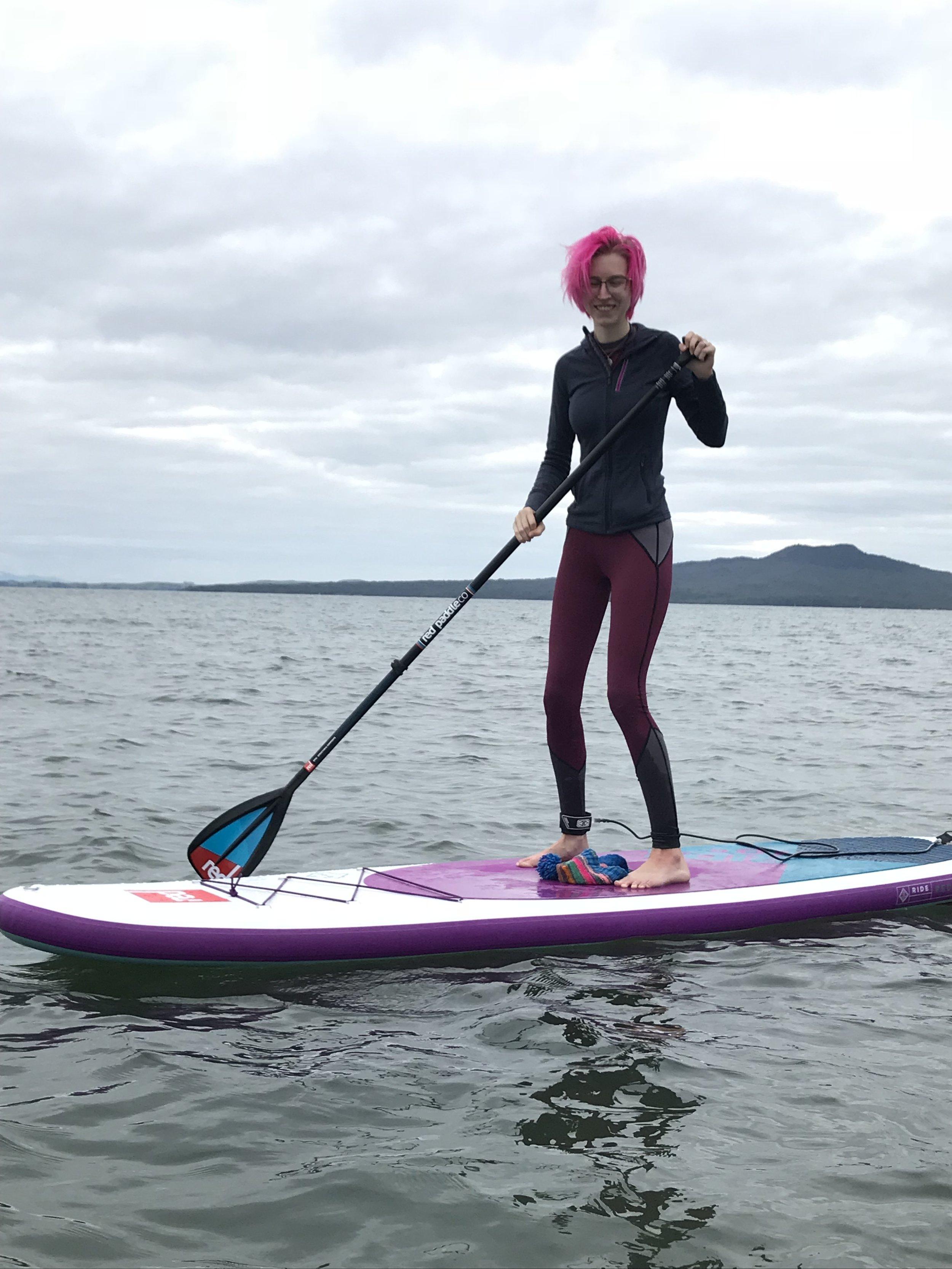 handmade paddleboard leggings