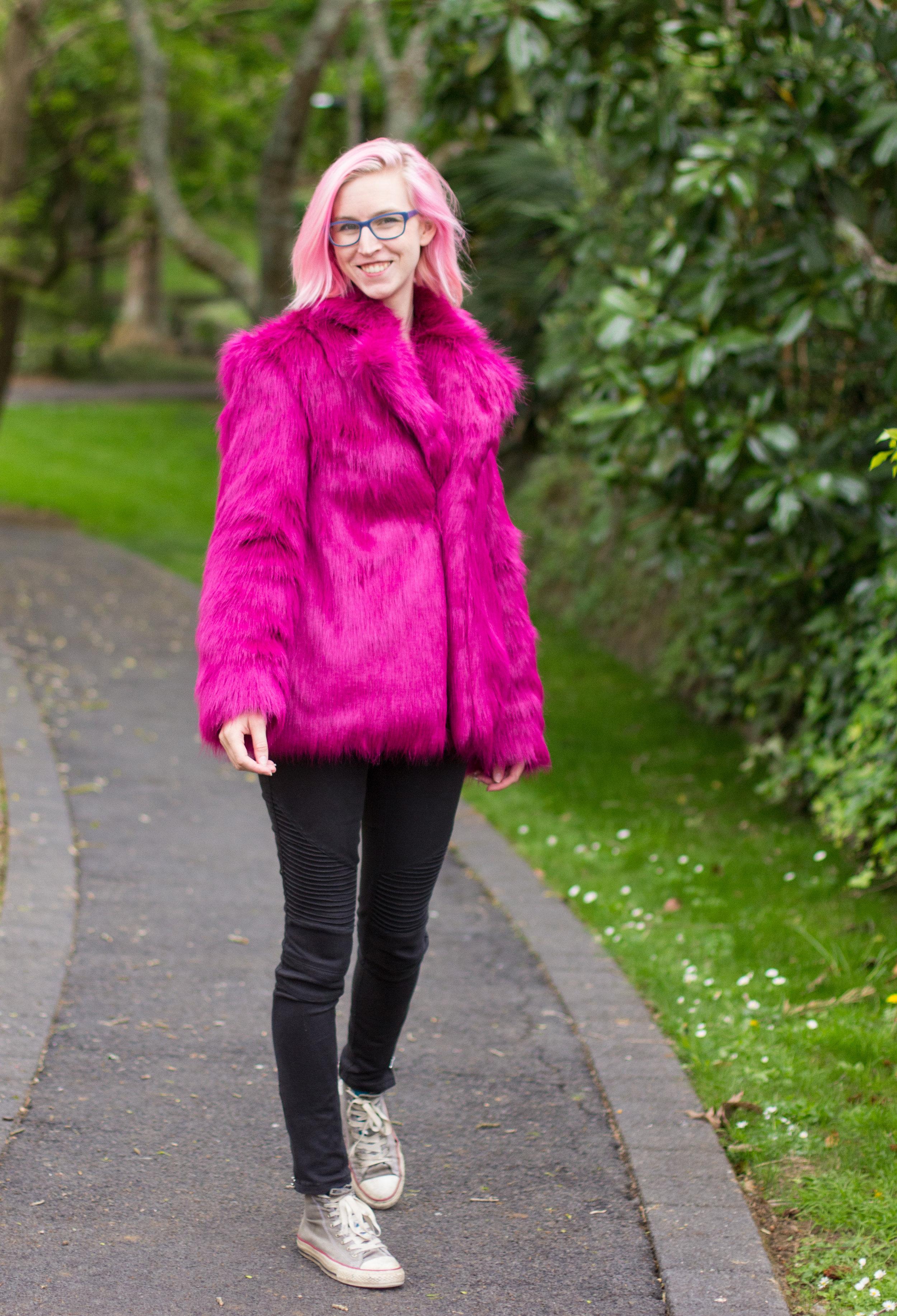 hand tailored fur coat