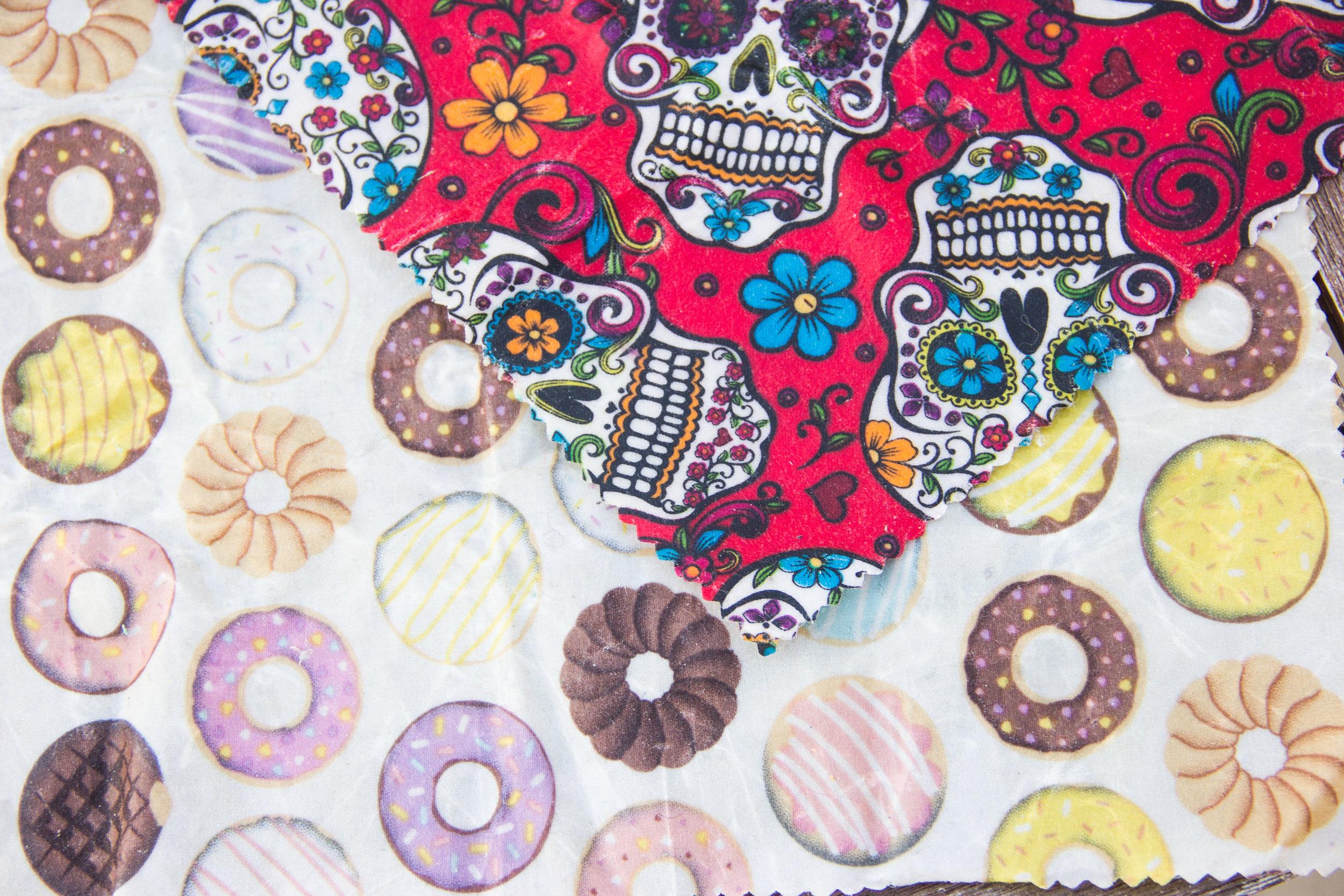 beeswax wrap fabric