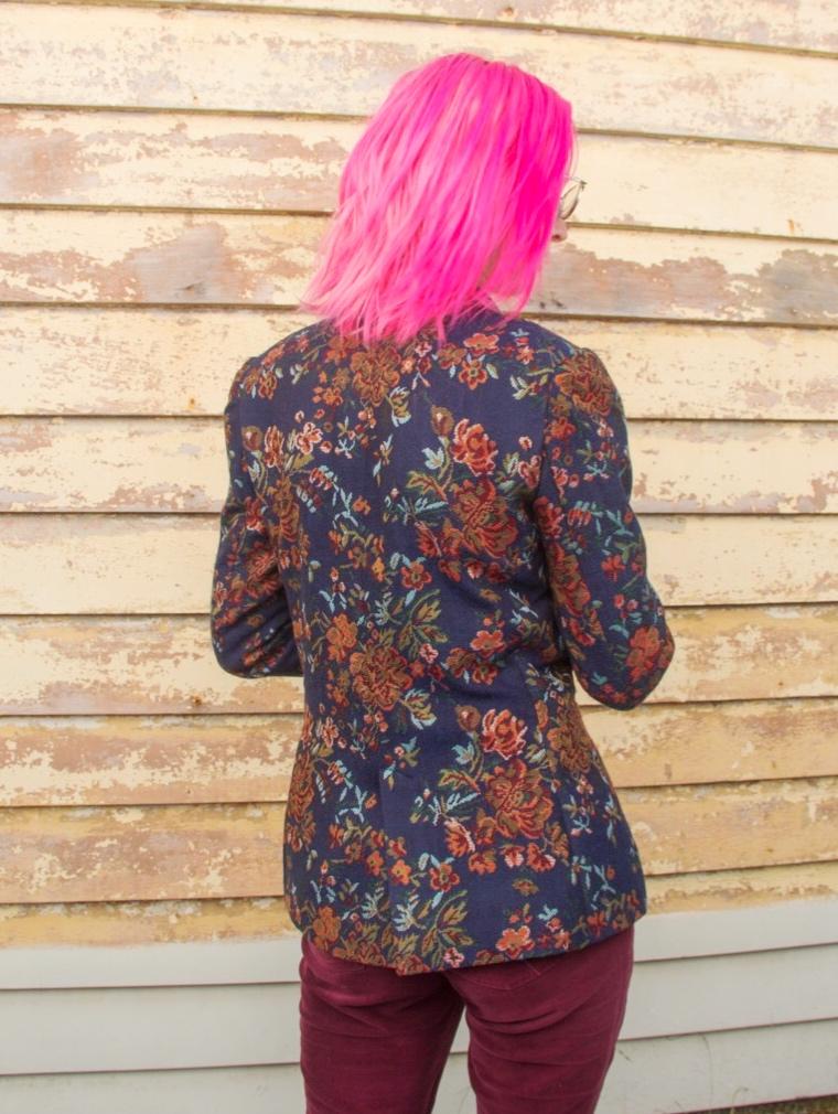 pattern matching center back seam